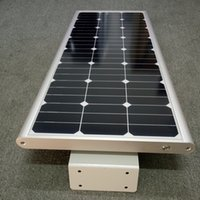 Wholesale Waterproof W LED Solar Street Light with Germany USA Brand Solar Panel V Green Battery for Outdoor Lighting