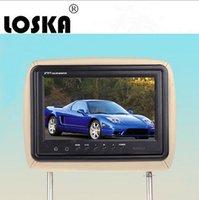 Wholesale 9 inch Universal Car Headrest Monitor Car DVD HD Black Car LCD Monitor