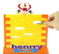 Wholesale Breaking down the game creative family games Educational toys board games push the wall knocking on the wall