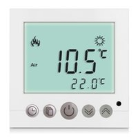 Wholesale New LCD Display Programmable Thermostat Weekly Digital White Room Floor Heating Thermostat Temperature Controller