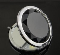 Wholesale Engraved Cosmetic Compact Mirror Hot sale New style High Quality Ten Colors Cosmetic Pocket Mirror Makeup Blank Compact Mirror