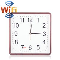 Wholesale 8GB x720P HD Wifi Spy Camera Clock Motion Detective SD Card Video Recorder