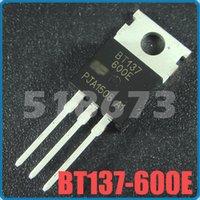 Wholesale BT137 E BT137600 Thyristor Triacs TO AB