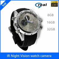 Wholesale Mini Camcorders W5000 Watch Mini Camera DVR GB HD P with IR Night Vision function HD Waterproof