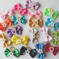 Wholesale 300pcs Pet Dog Hair Bows Festival Pet Dog Grooming Products