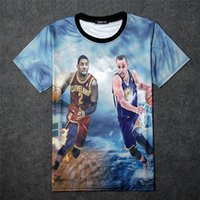 Cheap The explosion New fashion 2015 mens summer tops tee shirt 3D graphic print Tim Duncan basketball star funny short sleeve t-shirt tshirts