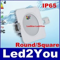 bathroom resistance - 120Lum W Led Downlights W W W W W Water resistance IP65 Led Round Square Recessed Lighting SMD5730 AC V CE ROHS UL SAA