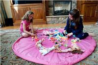 Colorful 150cm Grand Portable Jouer Mat Toy Sacs de rangement pour les enfants Enfants Infant Jouer Mat Organizer Blanket Boxes Rug Facile DHL gratuit
