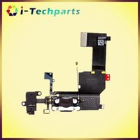 Wholesale New Original Charging Dock Headphone Jack Flex Cable for iPhone C S for iPhone