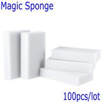 Wholesale Esponja Magica Para Limpeza Magic Sponge Cleaner Eraser Melamine Sponge for Cleaning Cooking Tools Magic Eraser