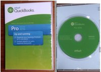 Wholesale new Q Books Pro accounting software full version English language for win plastic box