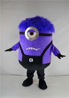 Di trasporto 8 stili me spregevole costume della mascotte costume minion <b>minion costume</b> per gli adulti