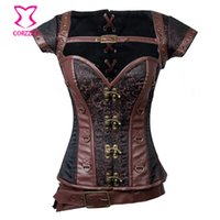 armor corset - Vintage Gothic Steampunk Corset Women Clothing Waist Training Corsets and Bustiers Armor Burlesque Corselet