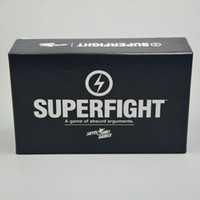 Wholesale Super fight super card game Cards Core Deck Superfight Basic Edtion A Game of Absurd Arguments Chrismas gift