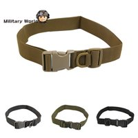 Wholesale Adjustable Military Army Nylon Utility Buckle Belts Tactical Combat Field Belt Outdoor Sportswear Waistband Belt Waist Support