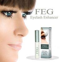 Wholesale 2015 New FEG Chinese Herbal Powerful Makeup Eyelash Growth Treatments Liquid Serum Enhancer Eye Lash Longer Thicker M01542