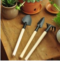 Wholesale Mini garden three sets of small garden spade spade digging tool