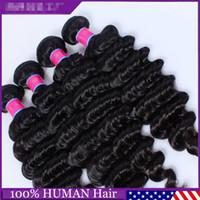 Wholesale Brazilian Deep Wave Hair Brazilian Hair Bundles lot100 Curly Hair Factory Selling Cheap Hair Brazilian Hair Weave Online