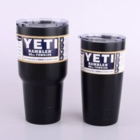 beer offers - Yeti Tumbler Rambler Cups Double Wall Vacuum Insulated oz Travel Vehicle Beer Mug with Clear Cover Silvery Red Blue Black Colors Offer
