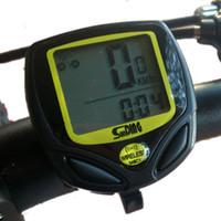 Wholesale Outdoor MTB Bicycle Cycling Bike Computer LCD Display Waterproof Wireless Speedometer New Arrival Odometer Meter