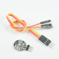 Wholesale Pulse Sensor Heart Rate Sensor with Cable for Arduino Compatible sensor lamp cable machine