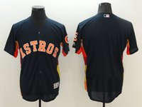 astros colors - New Flexbase Baseball Jerseys Astros Jersey Team Navy Orange White Gray Colors Blank No Name No Number Size Mix Order All Blank Jersey
