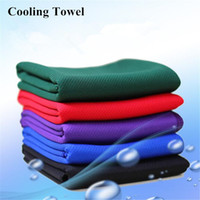 Wholesale PVA Creative Cold Towel Ice Towels Exercise Sweat Summer Sports Ice Cool Towel Hypothermia Cooling Towel cm for Children Adult