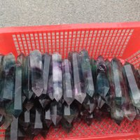 Wholesale 100g natural raw clear quartz crystal quarry point energy gem fluorite