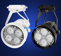 Wholesale 24pcs LED Track Lights W W W OSRAM Track Lights Bulbs Lamps for Clothing Shop Supermarket