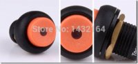 Wholesale LED Latching ON OFF Push Button Car Boat Switch mm button pattern button roll