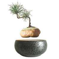 ceramics and pottery - 2016 Japan High Tech Gadgets Gadgets Magnetic Levitation Floating Plants Ceramics and Pottery Bonsai Pot DIY Gifts for Women No Plant H