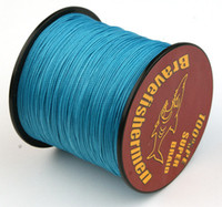 Wholesale 300M PE braided colors fishing line Strand PE Multifilament Braided Fishing Line Saltwater Freshwater LB