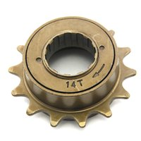 Wholesale New Bike Single Speed Freewheels T Bicycle Sprockets Flywheel Cog Bicycle Parts Accessories MN0153