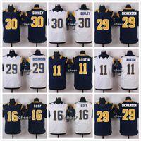 Wholesale Cheap Jerseys Todd Gurley Tavon Austin Kurt Warner Jared Goff Eric Dickerson Elite Football jerseys