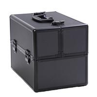Wholesale Aluminum Makeup Train Case Jewelry Box Cosmetic Organizer quot x9 quot x10 quot