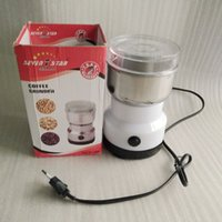 bean grinding coffee maker - New Coffee Grinder machine Coffee miller Intelligent stainless steel Household Electric Grinding Machine Beans Nuts Grinder price