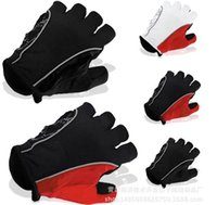 Wholesale Breathable wear resistant silicone sports outdoor half finger gloves bike racing bike riding gloves and equipment