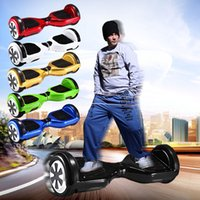 balance red - USA Stock Hoverboard Inch Wheels Electric Scooters mah Battery self balance electric Scooters Balancing Skateboard