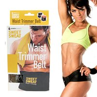 Wholesale Sweat Premium Waist Trimmer Belt for Men Women High Quality Slimming Belt DHL Free