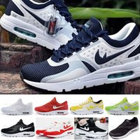 art cushions - Max Zero QS Running Shoes For Men New Color High Quality Brands Air Cushion Trainers Mens Sports Shoes