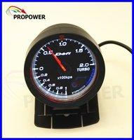 auto meter boost gauge - quot MM DF Advance CR Gauge Meter Turbo Boost Gauge BAR Black Face With Turbo Sensor AUTO GAUGE