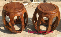 african drum craft - Antique Drum stool home casual siting in natural lacquer craft luxury African Red sandalwood