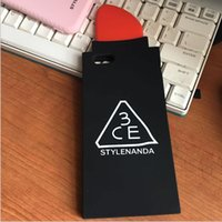 apple nail - IPhone s Lipstick Silicone phone case Cell Phone Accessories plus Cartoon Nails palm waterproof for iphone plus Mobile Phone cover