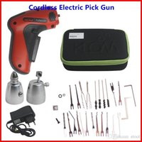 best electric pick gun - Best New Rechargeable Cordless Electric Pick Gun Auto Locksmith Tool with Best Qualit