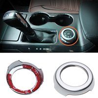 Wholesale 1pcs Silver Mode Switch Decorative Circle Sequin For Ford Explorer