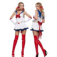 adult sailor moon costumes - KESHIWEI Anime Pretty Sailor Moon Costumes Sexy Adult Halloween Costumes for Women Cosplay