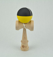 Wholesale Toys Kendama skills ball Wood Gifts Kendama Ball Funny Japanese Traditional Game Toy Elastic paint cm Big size kendama