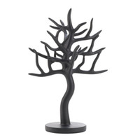 Wholesale mew BLACK TREE JEWELRY HOLDER Earrings Ring Necklace Display Stand Organizer