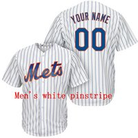 Wholesale Baseball jersey New York Mets Custom jersey Personalized jersey any name any number name number Stitched