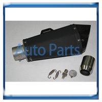 Wholesale Black carbon fiber muffler motorcycle Exhaust Muffler Universal